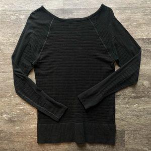 Athleta warm, but light weight sweater